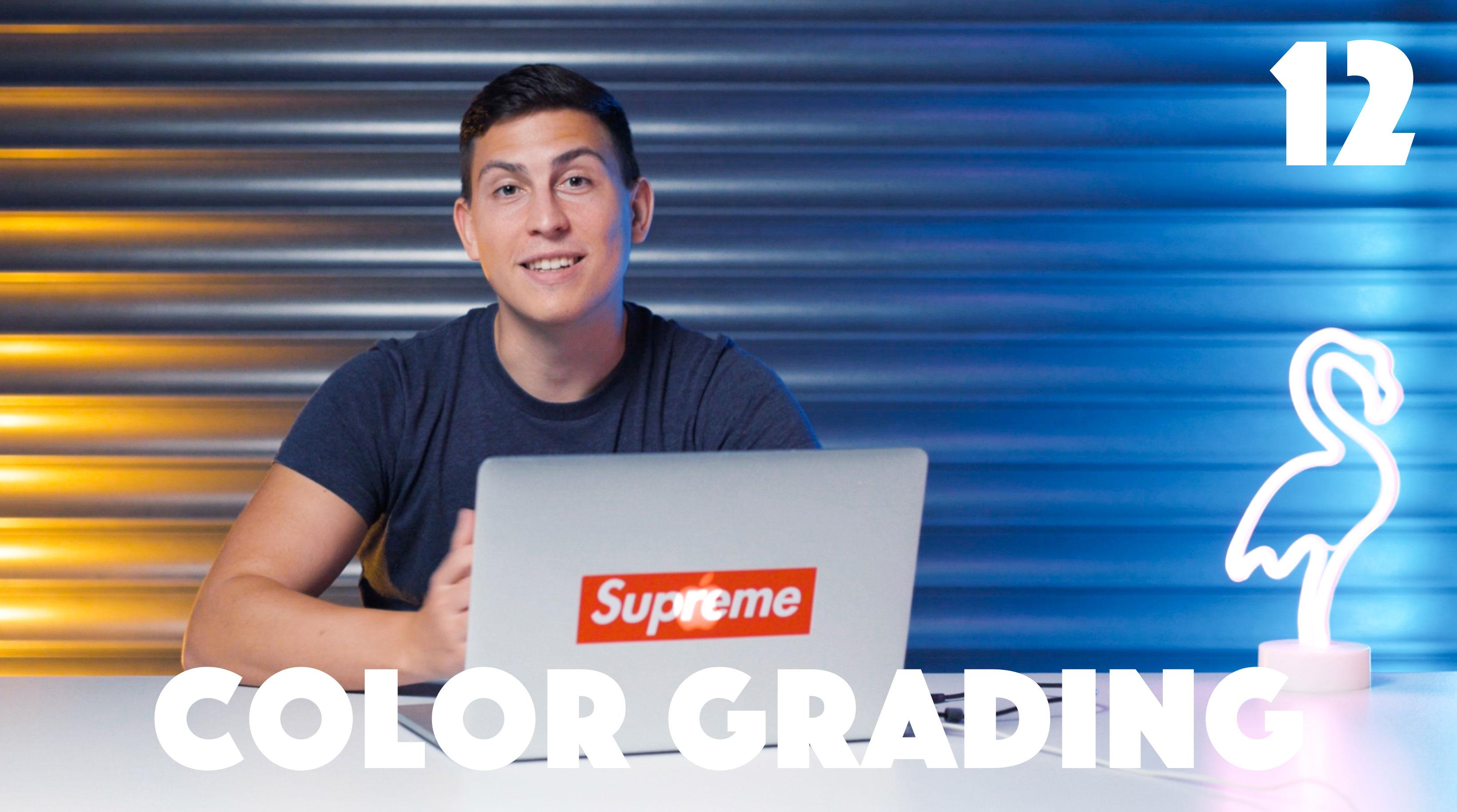 12 Color Grading
