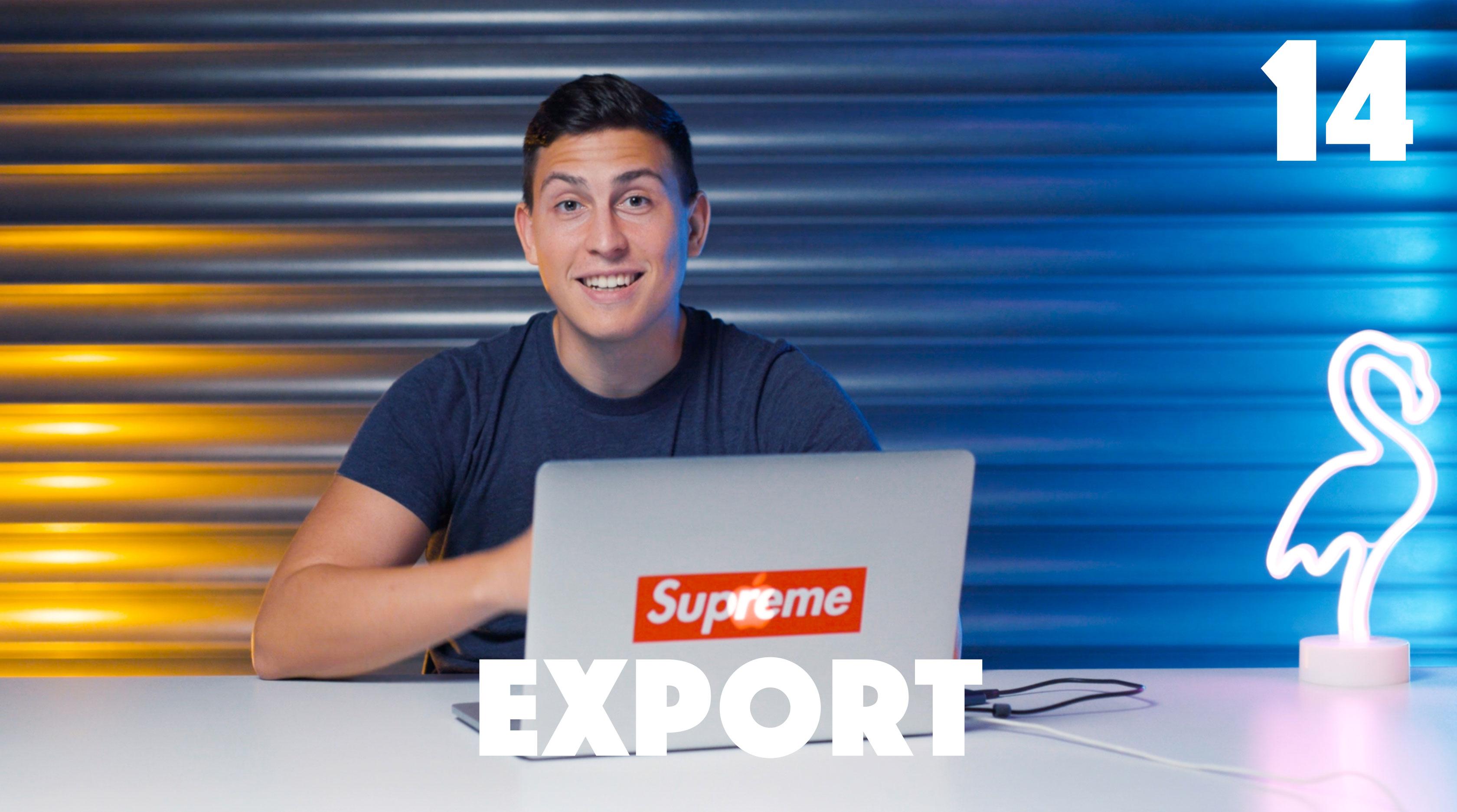 14 Export